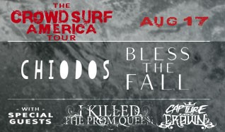 Chiodos and Blessthefall tickets at Starland Ballroom in Sayreville