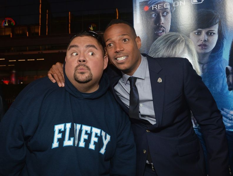 Photo of Gabriel Iglesias & his friend