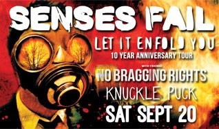 Senses Fail tickets at Starland Ballroom in Sayreville