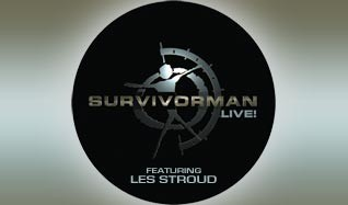 Survivorman Live! feat. Les Stroud tickets at Mill City Nights in Minneapolis