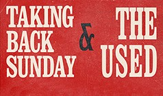 Taking Back Sunday and The Used tickets at Showbox SoDo in Seattle