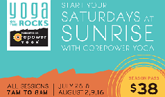 Yoga on the Rocks tickets at Red Rocks Amphitheatre in Morrison