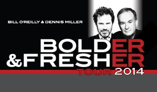 Bill O'Reilly & Dennis Miller tickets at The Colosseum at Caesars Palace in Las Vegas
