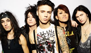 Black Veil Brides tickets at MYTH in St. Paul