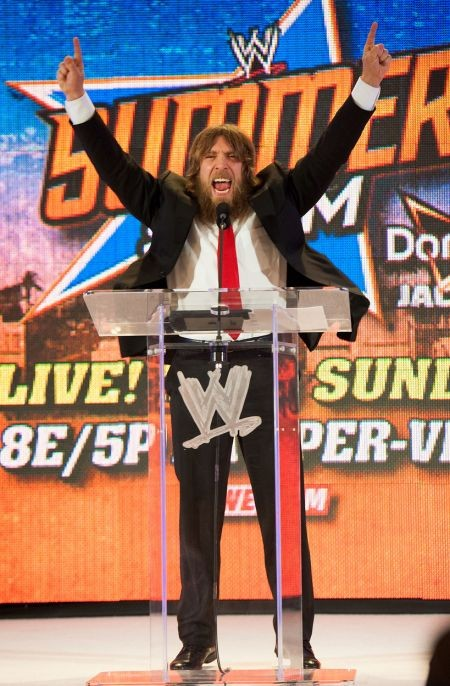 "Daniel Bryan's ""Yes! Yes! Yes!"" gesture is so popular that fans started doing it in sports stadiums that have nothing to do with pro wrestli"