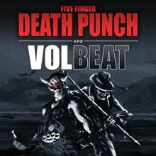 Five Finger Death Punch & Volbeat tickets at The Joint at Hard Rock Hotel & Casino Las Vegas in Las Vegas