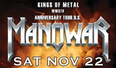 MANOWAR tickets at Starland Ballroom in Sayreville