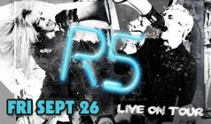 R5 tickets at Starland Ballroom in Sayreville