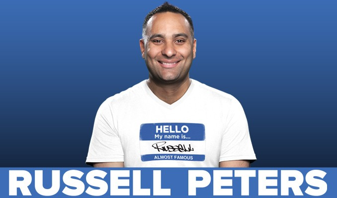 Russell Peters tickets at New Jersey Performing Arts Center in Newark