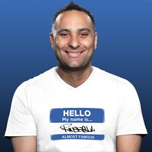 Russell Peters tickets at The Warfield in San Francisco
