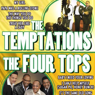 The Temptations & The Four Tops Holiday Show