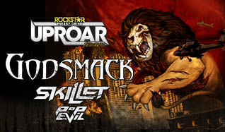 2014 Rockstar Energy UPROAR Festival featuring Godsmack with Skillet, Pop Evil & Escape the Fate tickets at The Joint at Hard Rock Hotel & Casino Las Vegas in Las Vegas