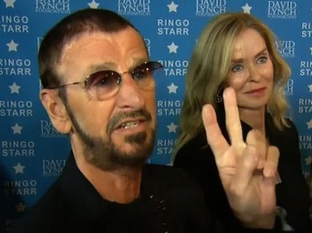 Oh my my! Ringo Starrs in AXS TV tribute