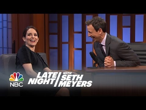 Tina Fey is the incumbent first lady of American comedy