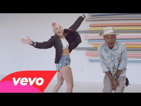 Watch: Miley Cyrus, many other women dance around in new Pharrell video