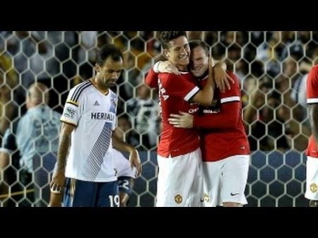 Manchester United begins US tour with convincing victory over LA Galaxy