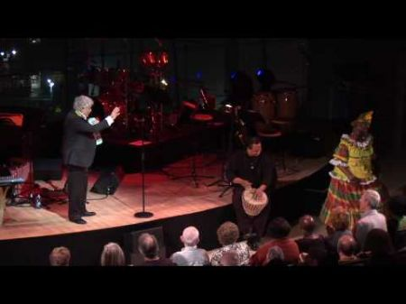 Monty Alexander and Harlem-Kingston Express give audience birthday surprise