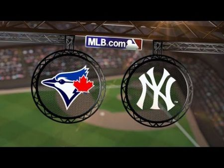 Toronto Blue Jays sneak by New York Yankees 5-4 to capture series win
