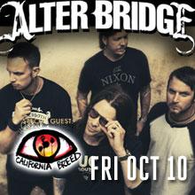 Alter Bridge tickets at Starland Ballroom in Sayreville