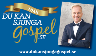 Du kan sjunga gospel 10 år tickets at Annexet in Stockholm