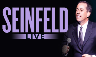 Jerry Seinfeld tickets at Arvest Bank Theatre at The Midland in Kansas City