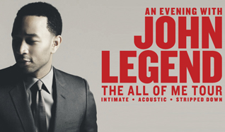 John Legend tickets at Ericsson Globe in Stockholm