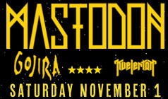 Mastodon tickets at Starland Ballroom in Sayreville