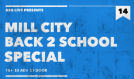 Mill City Back-to-School Special in The Nether Bar tickets at Mill City Nights in Minneapolis