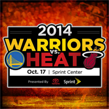 NBA Preseason: Miami HEAT vs. Golden State Warriors tickets at Sprint Center in Kansas City
