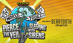 Pierce The Veil and Sleeping With Sirens tickets at Fox Theater Pomona in Pomona