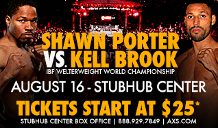 Porter vs. Brook tickets at StubHub Center in Carson