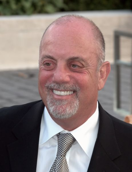 Billy Joel to receive Library of Congress Gershwin Prize for Popular Song