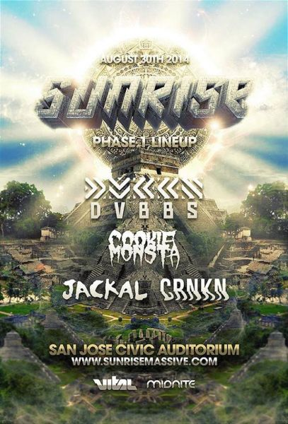 San Jose's Sunrise announces first phase of its 2014 lineup
