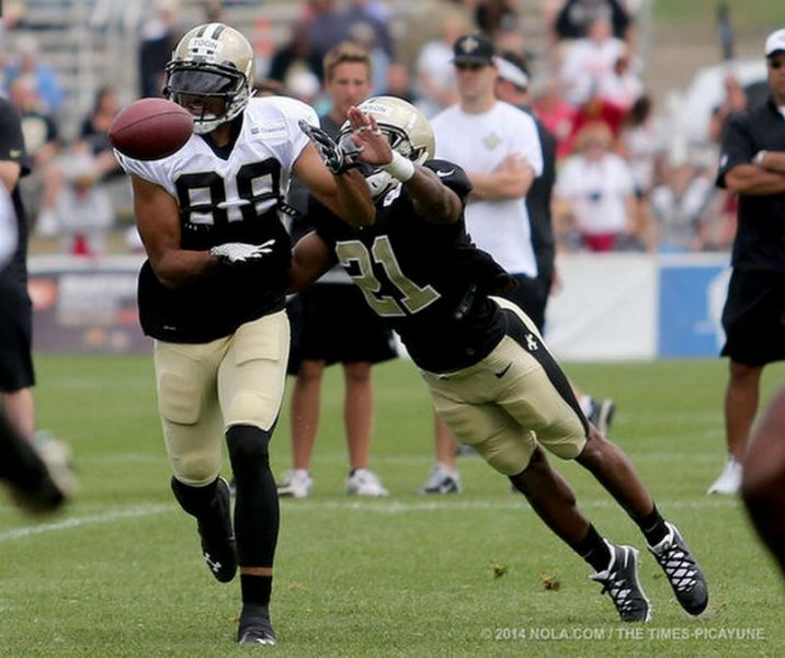 Notes from New Orleans Saints fourth training camp practice of 2014