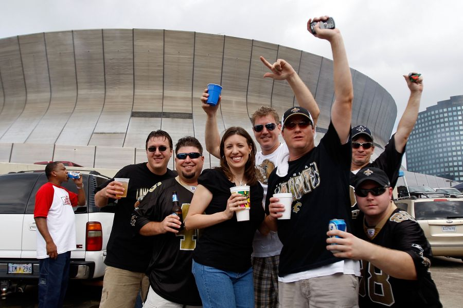 Nike jerseys for Cheap - The 10 Commandments of New Orleans Saints Tailgating - AXS