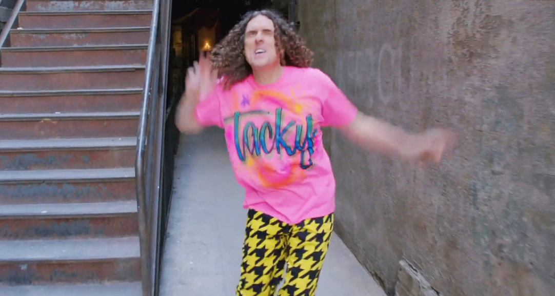 Weird Al Yankovic releases 'Tacky' parody of Pharrell's 'Happy'