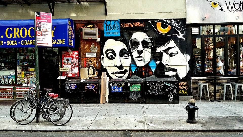 Beastie Boys mural completed at site of 'Paul's Boutique'