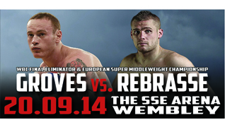 'Return of The Saint' - George Groves vs Christopher Rebrasse tickets at The SSE Arena, Wembley in London