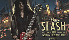 Slash Feat. Myles Kennedy and The Conspirators tickets at The Roxy Theatre in Los Angeles