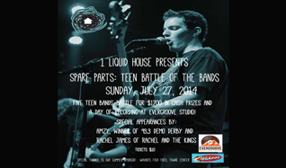 Spare Parts Battle of the Bands tickets at Gothic Theatre in Englewood