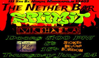 Splimit & Virbhadra in The Nether Bar tickets at Mill City Nights in Minneapolis