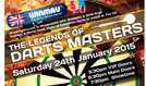 The Legends of Darts Masters tickets at indigo at The O2 in London