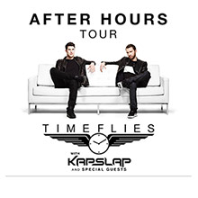 Timeflies tickets at The Regency Ballroom in San Francisco
