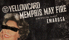 Yellowcard and Memphis May Fire tickets at Starland Ballroom in Sayreville