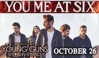 You Me At Six tickets at Starland Ballroom in Sayreville