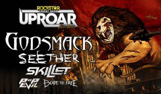 2014 Rockstar Energy UPROAR Festival featuring Godsmack & Seether tickets at The Joint at Hard Rock Hotel & Casino Las Vegas in Las Vegas