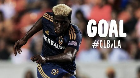 Gyasi Zardes is up for the AT&T Goal of the Week award