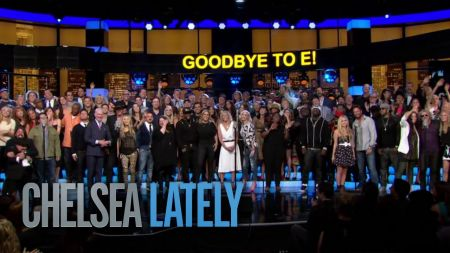 Chelsea Handler gets epic send off in celeb-packed 'We Are The World' parody