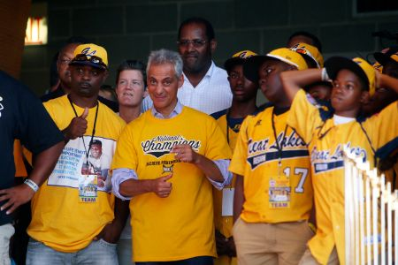 Chicago celebrates US Champions Jackie Robinson West