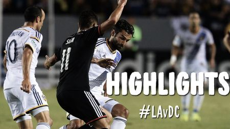 LA Galaxy triumph over  DC United 4-1